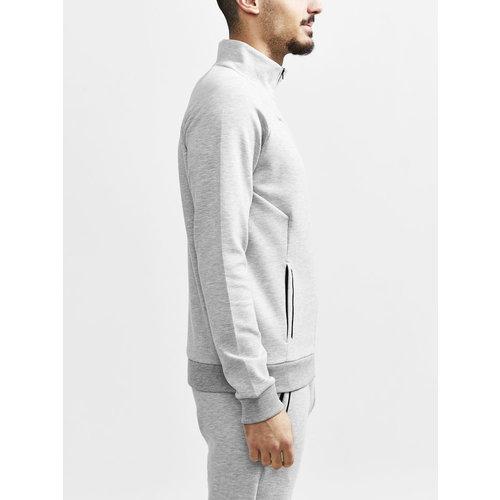 Craft Core Soul Full Zip Jacket, heren, Grey Melange