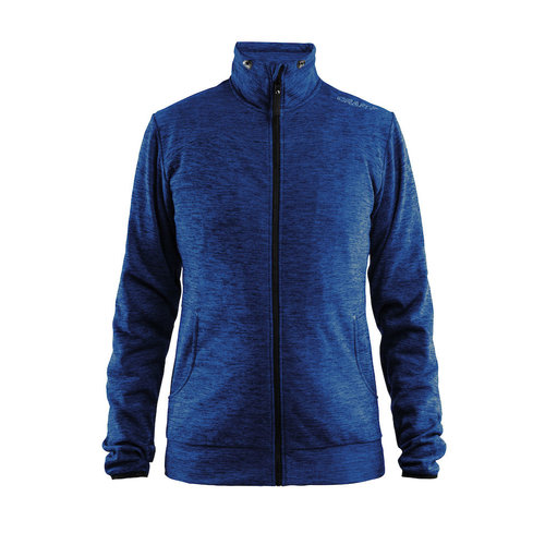 Craft Craft Leisure Jacket Full Zip dames, Deep Melange