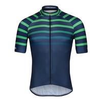 Xien, Bioracer, Short Sleeve Jersey Bodyfit 2.0, heren, navy-green