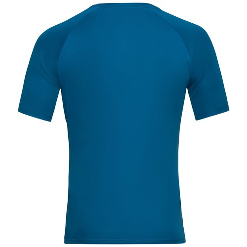 Odlo Odlo Essential Print hardloopshirt, heren, blauw