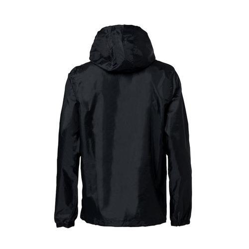 Clique Eenvoudige regenjas, Unisex, zwart