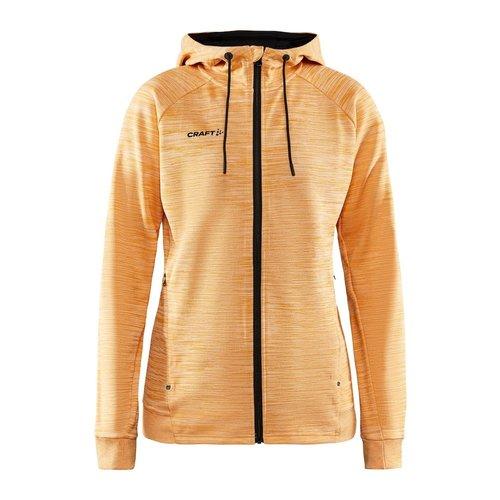 Craft Craft ADV Unify Full Zip Hood, dames, Tiger