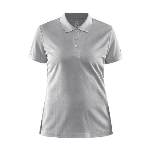 Core Unify Poloshirt, dames, Grey Melange