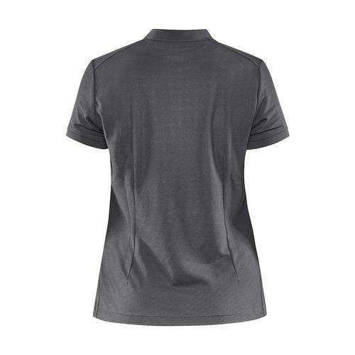 Core Unify Poloshirt, dames, Graniet