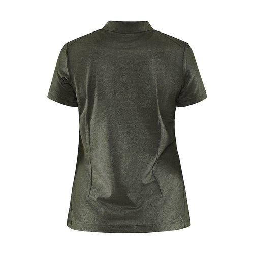 Core Unify Poloshirt, dames, Woods Melange
