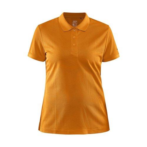 Core Unify Poloshirt, dames, Tiger Melange