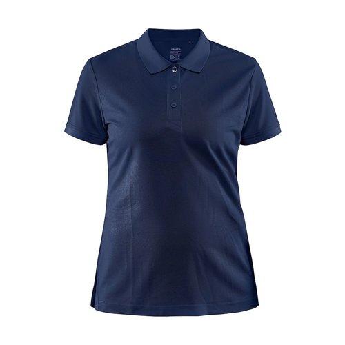 Core Unify Poloshirt, dames, Blaze Melange