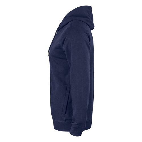 Clique Premium OC Hoody Full Zip, heren, Navy