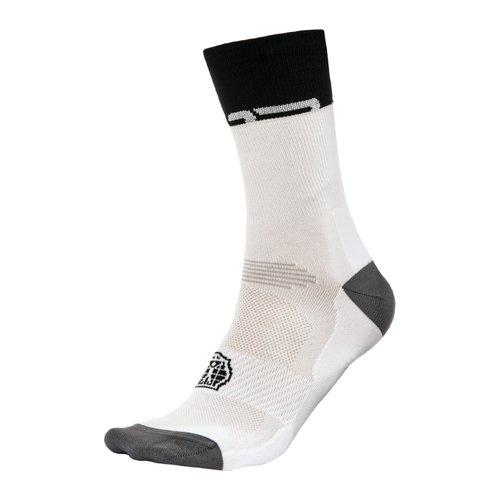 Bioracer Bioracer zomer fiets sokken, wit/zwart
