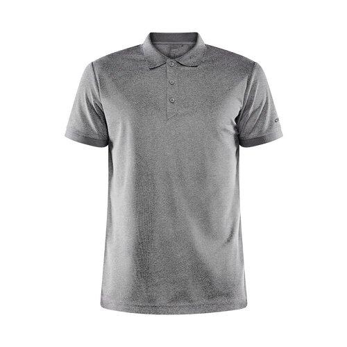 Core Unify Poloshirt, heren, Dark Grey Melange