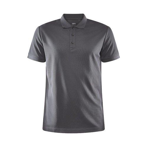 Core Unify Poloshirt, heren, Graniet