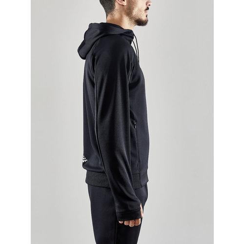 Craft Trainingsjack, Evolve Hood Jacket, heren, zwart