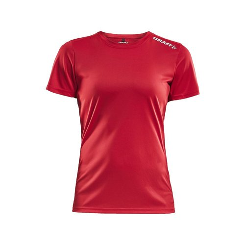 Craft Rush SS Tee, dames, Bright Red