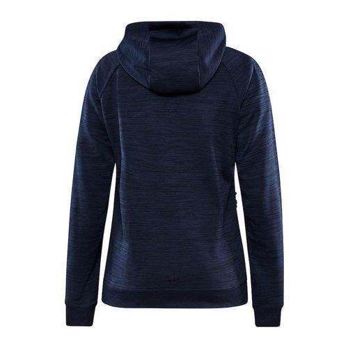 Craft Craft ADV Unify Full Zip Hood, dames, Blaze Melange