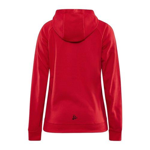 Craft Craft ADV Unify Full Zip Hood, dames, Bright Red