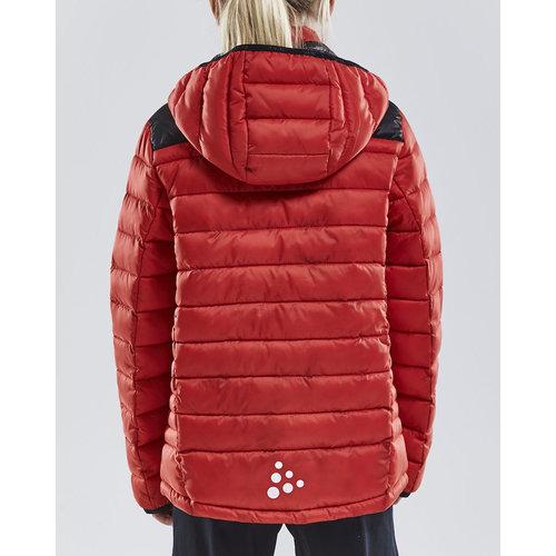 Craft Isolatie Jacket Junior, Bright Red