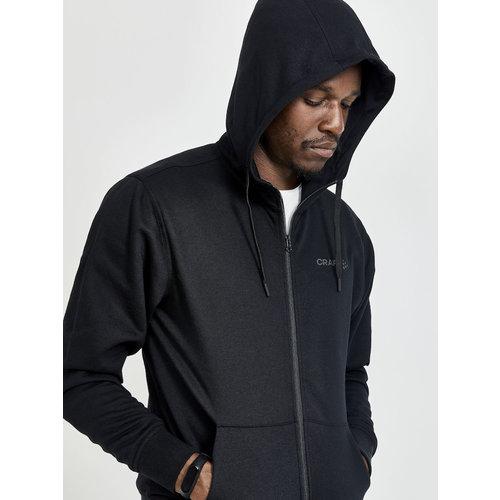 Craft Core Craft Zip Hood, heren, zwart