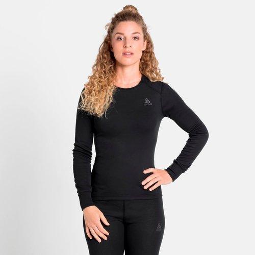 Odlo Active Warm Eco Long Sleeve baselayer, dames, zwart