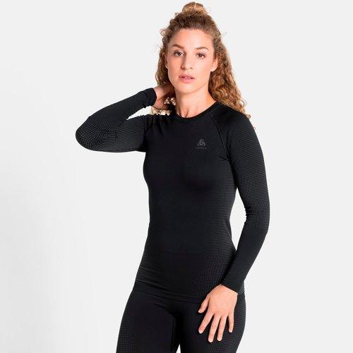 Odlo Performance Warm Shirt Long Sleeve dames, zwart