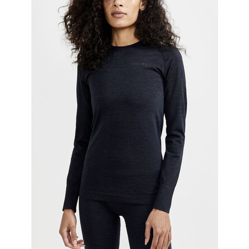 Core Dry Active Comfort Long Sleeve, dames, zwart