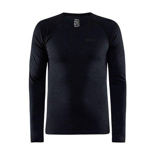 Core Dry Active Comfort Long Sleeve, heren, zwart