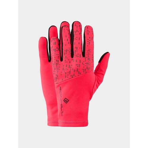 Ronhill Nightrunner handschoenen, unisex, Roze