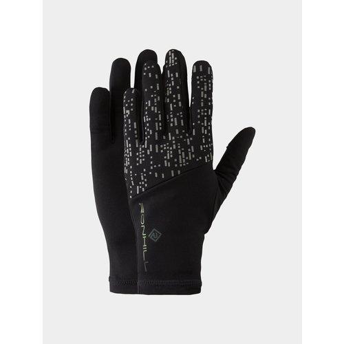 Ronhill Nightrunner handschoenen, unisex, Zwart