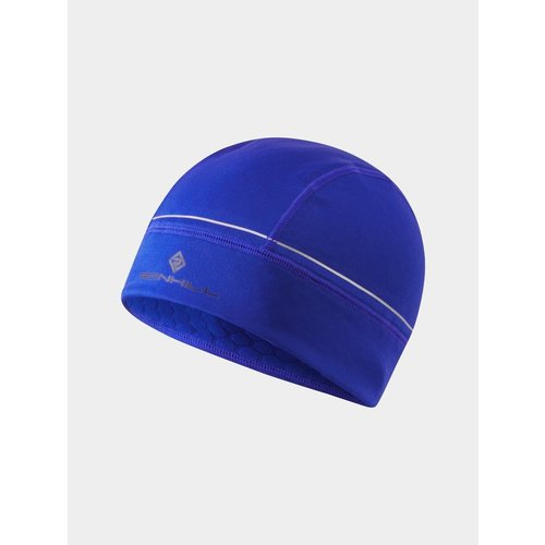 Ronhill Hardloopmuts, Prism Beanie, unisex, blauw