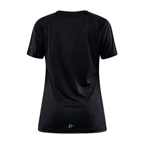 Craft Trainingsshirt, Core Unify, dames, zwart