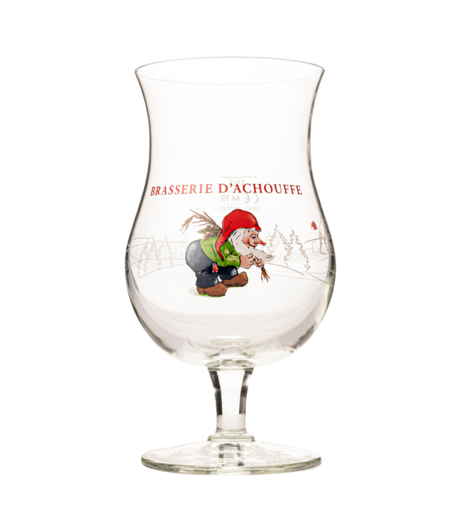 Brasserie d'Achouffe La Chouffe glas - 33cl