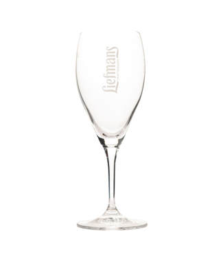 Brouwerij Liefmans Fruitesse Liefmans glas op voet