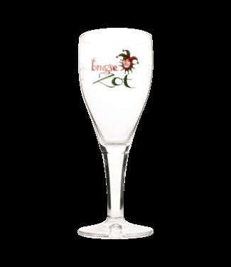 Brouwerij De Halve Maan Brugse Zot glass 33cl