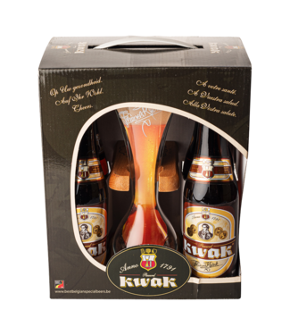 Brouwerij Bosteels Kwak Giftpack