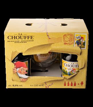 Brasserie d'Achouffe La Chouffe Giftpack