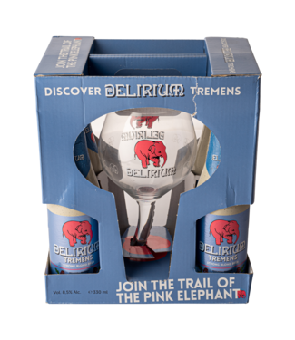 Brouwerij Huyghe Delirium Tremens Geschenkverpakking