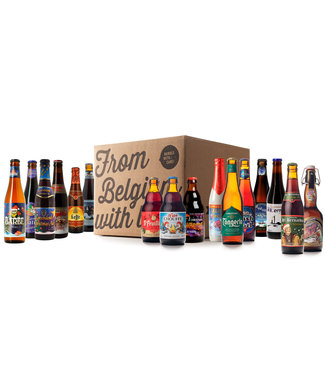 Beer of Belgium Christmas Mix - 16 bottles