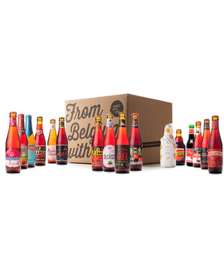 Beer of Belgium Fruit Mix - 16 bottles
