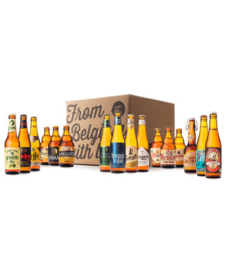 Beer of Belgium Blond Mix - 16 bottles