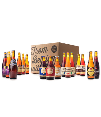 Beer of Belgium Trappist Mix - 16 bottles