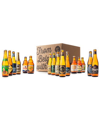 Beer of Belgium Triple Mix - 16 bottles