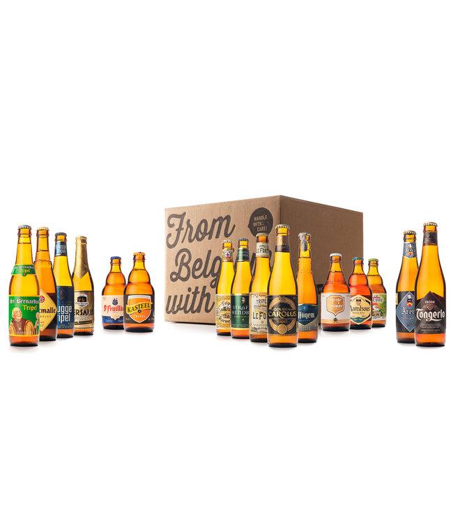 Beer of Belgium Triple Mix - 16 bottles