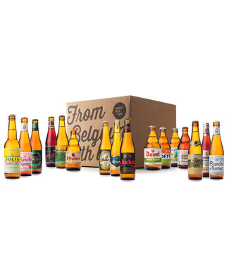 Beer of Belgium Spring Mix - 16 bottles