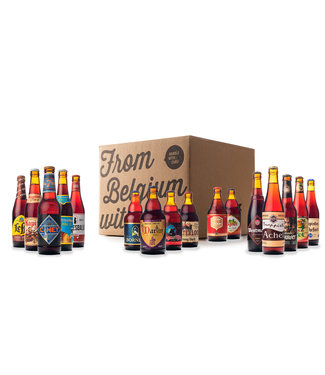 Beer of Belgium Dark Mix - 16 bottles