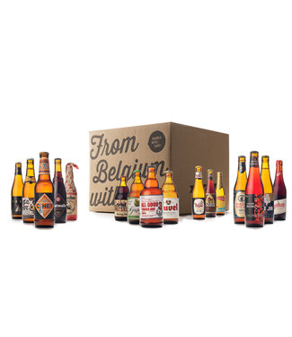 Beer of Belgium Beer Mix - 16 bottles