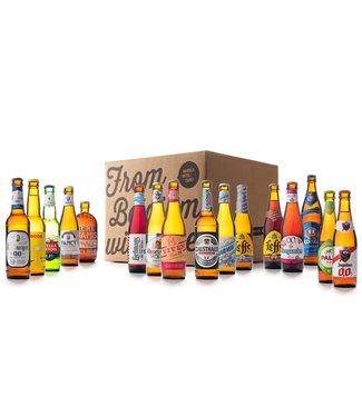 Beer of Belgium Alcohol Free Mix - 16 flessen