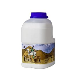 Dutch Oasis 42 bottles fresh, raw camel milk (€4,74/bottle)
