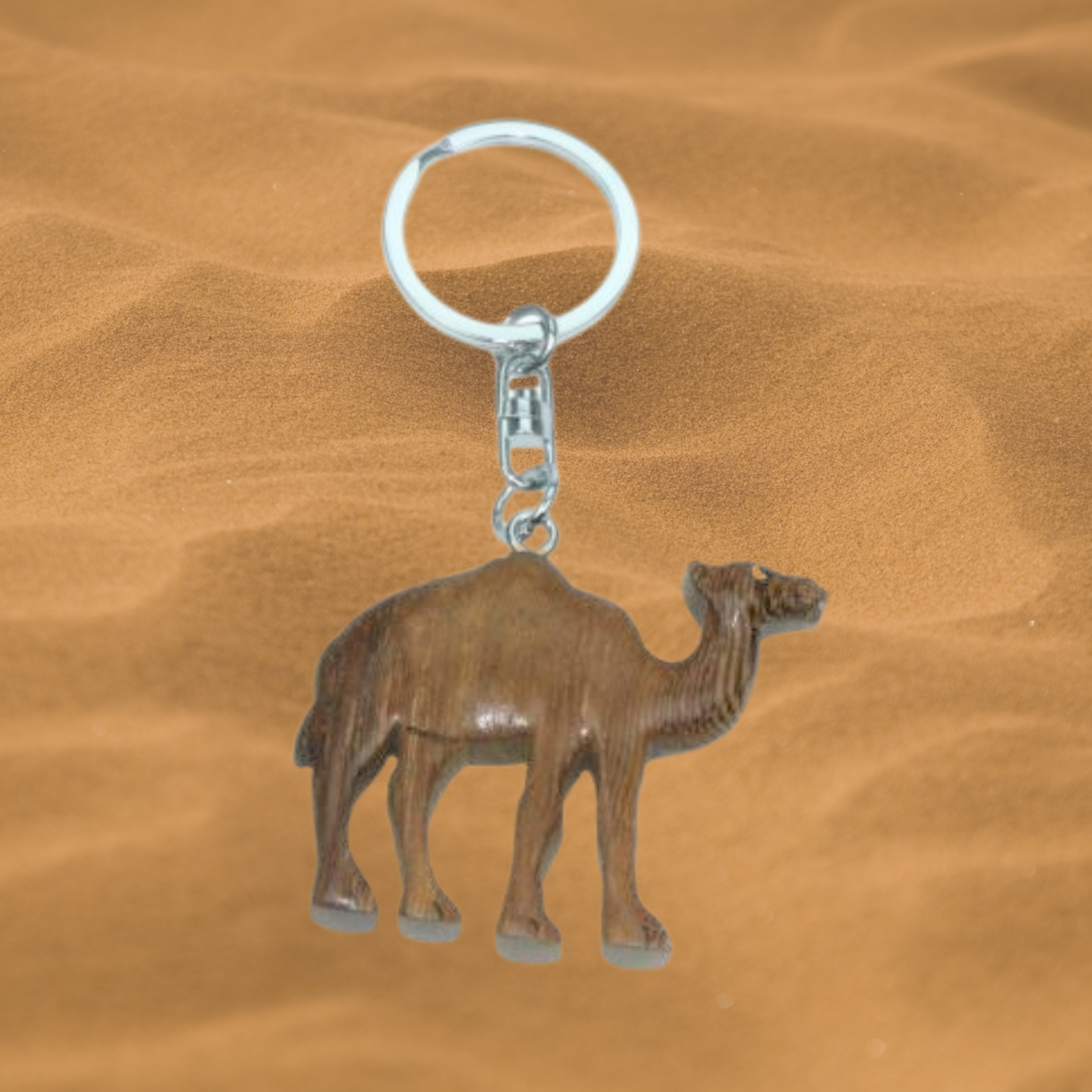 Key chain camel (wood)