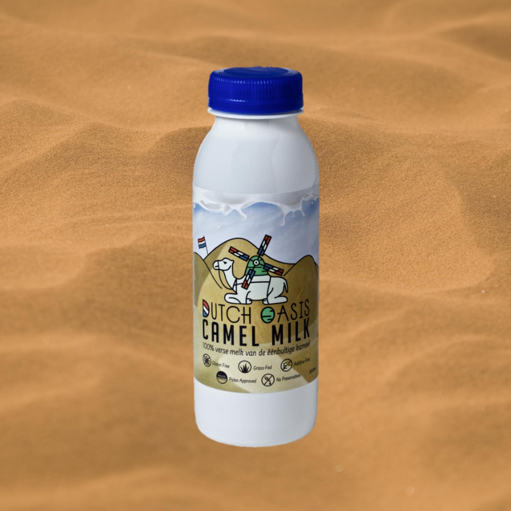 Dutch Oasis 10 bottles of 250 ml fresh raw camel milk €3,95/bottle