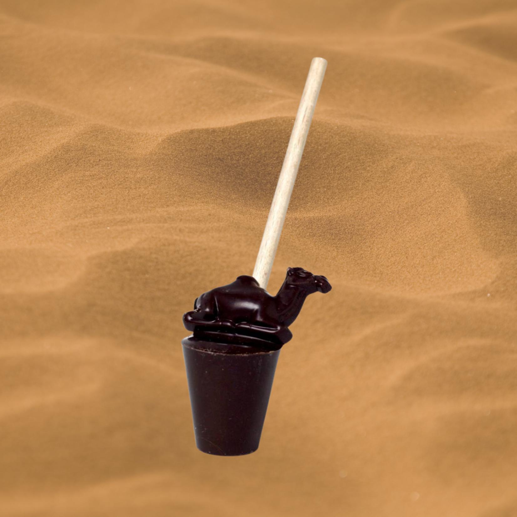 ChoCamel - Choco-lolly met kamelenmelk, voor de lekkerste warme chocolademelk