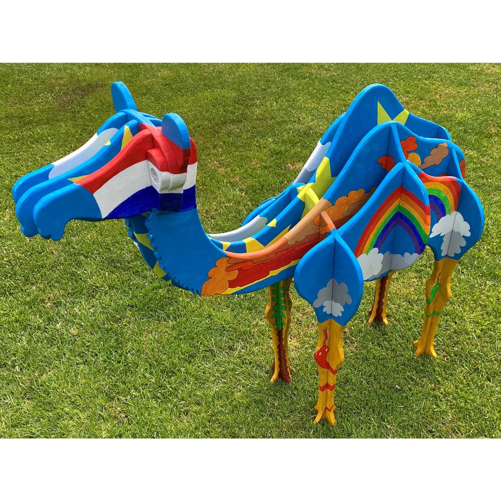 Chameau en bois - dessin de construction pour faire un chameau vous-même